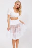 Vorschau: Petticoat in Weiß 60cm