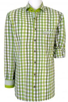 Herrenhemd Duncan Normal Fit grün
