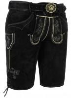 Vorschau: Lederhose Veith schwarz kurz