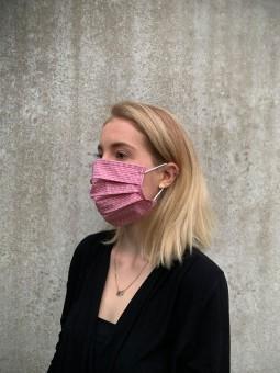 Mund-Nasen-Maske Evie rot