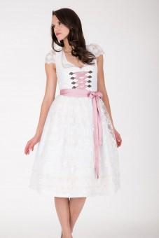 Hochzeitsdirndl midi Ferrara rosa