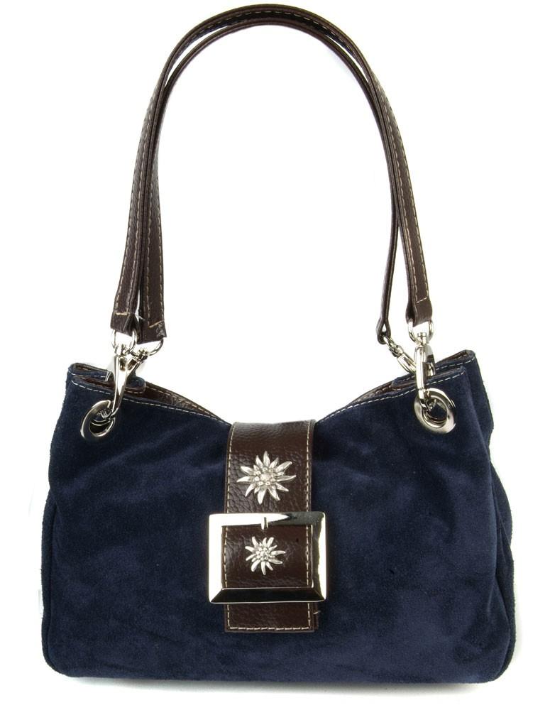 Handtasche Nora Wildleder marine