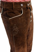 Preview: Lederhose Christian, Dark Brown