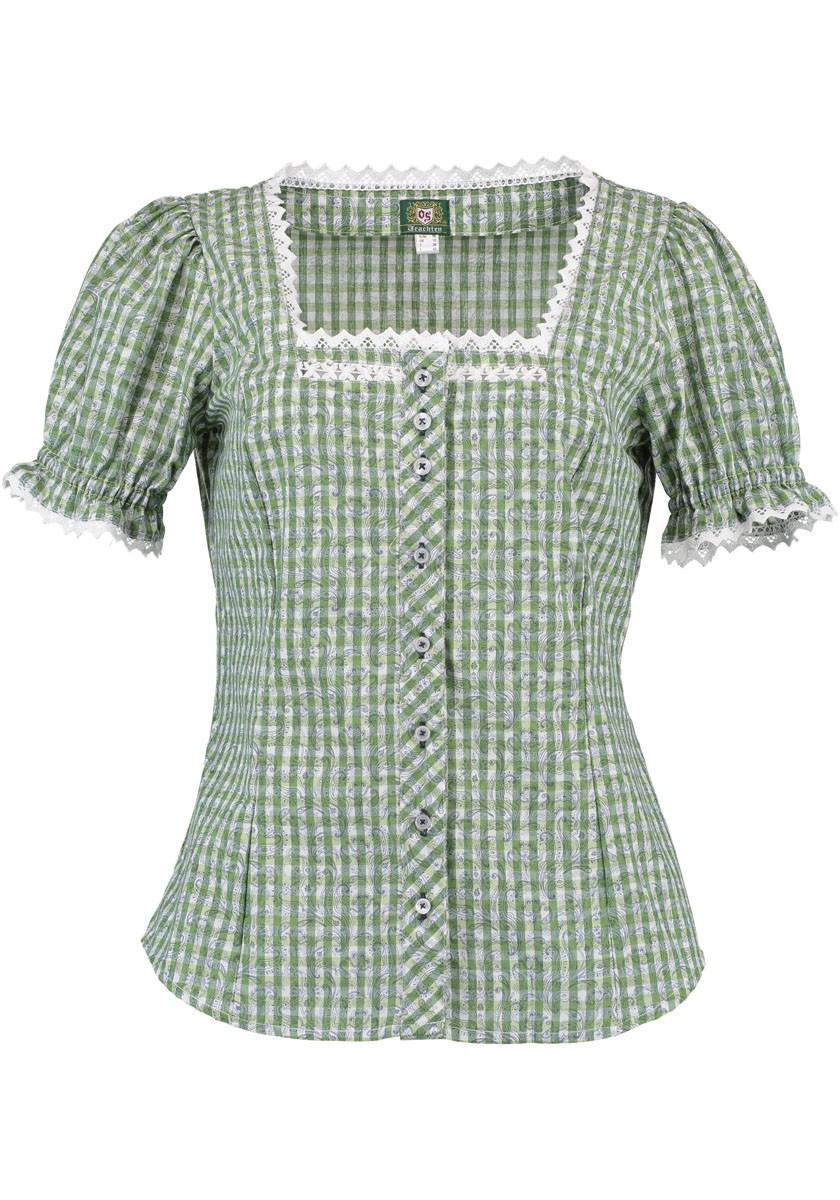 Damska bluzka Bine zielona