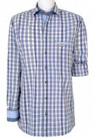 Vorschau: Herrenhemd Duncan Normal Fit blau
