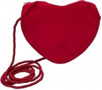 Vorschau: Herz Trachtentasche rot