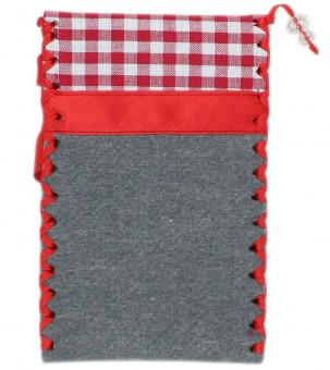 Mobile Phone Case, Fawn, grey-red