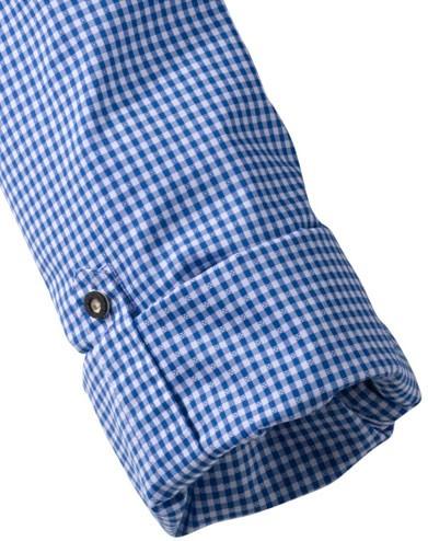 Olymp Shirt Traditioneel shirt blauw / wit, geruit