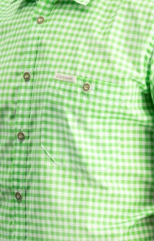 Traditional shirt Renko in pistachio