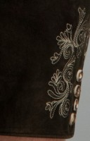 Vorschau: Lederhose Beppo dunkelbraun