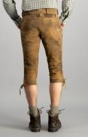 Vorschau: Kniebundlederhose Sigmar hellbraun