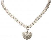 Vorschau: Perlenkette Mathilda natur