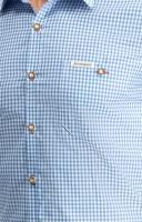 Vorschau: Trachtenhemd Dave in blau