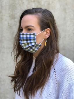 Mund-Nasen-Maske Clara grün
