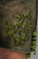 Vorschau: Lederhose Rudolf gelb
