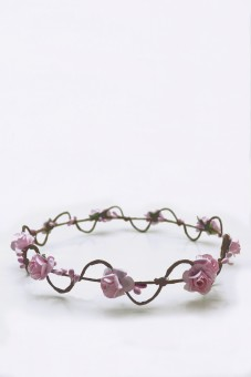 Hair ring Elfenwunder pink