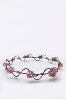 Haarkranz Elfenwunder rosa