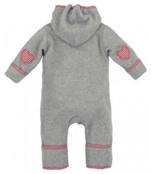 Fleeceoverall 'Mein kleiner Schatz' (Baby Strampler)