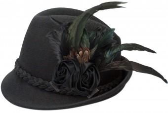 Filzhut Rosalie schwarz