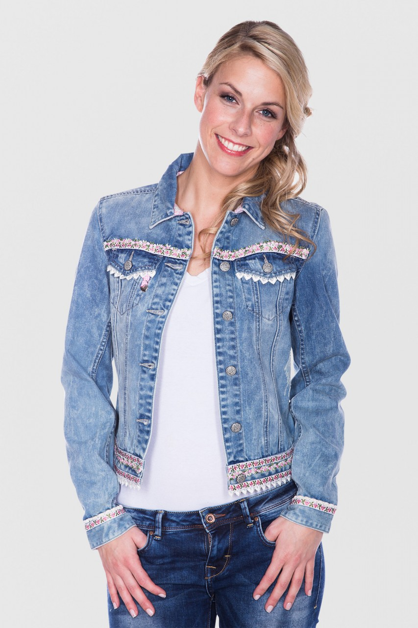Jeansjacke Denim Dream rosa
