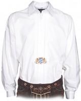 Trachtenhemd Bavaria mit Stickerei