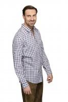 Langarmhemd Mitchel grau