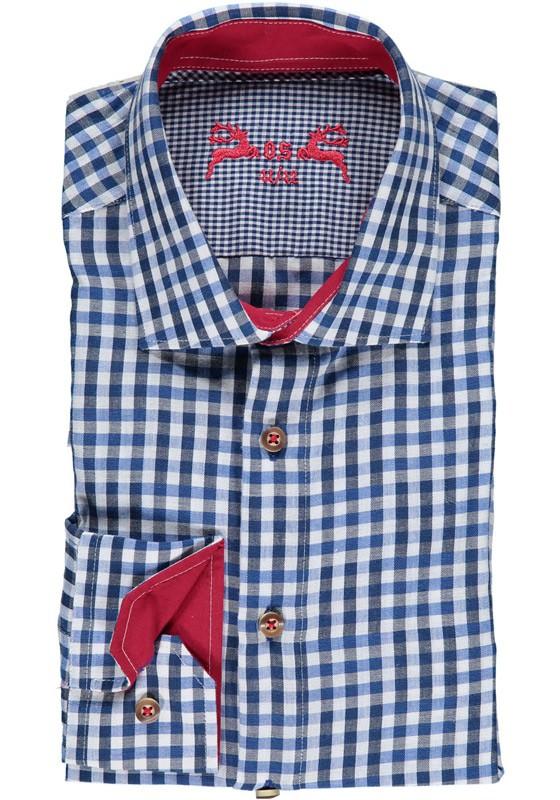 Heren shirt Vale blauw
