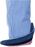 Preview: Olymp Hemd Trachtenhemd blau/weiss