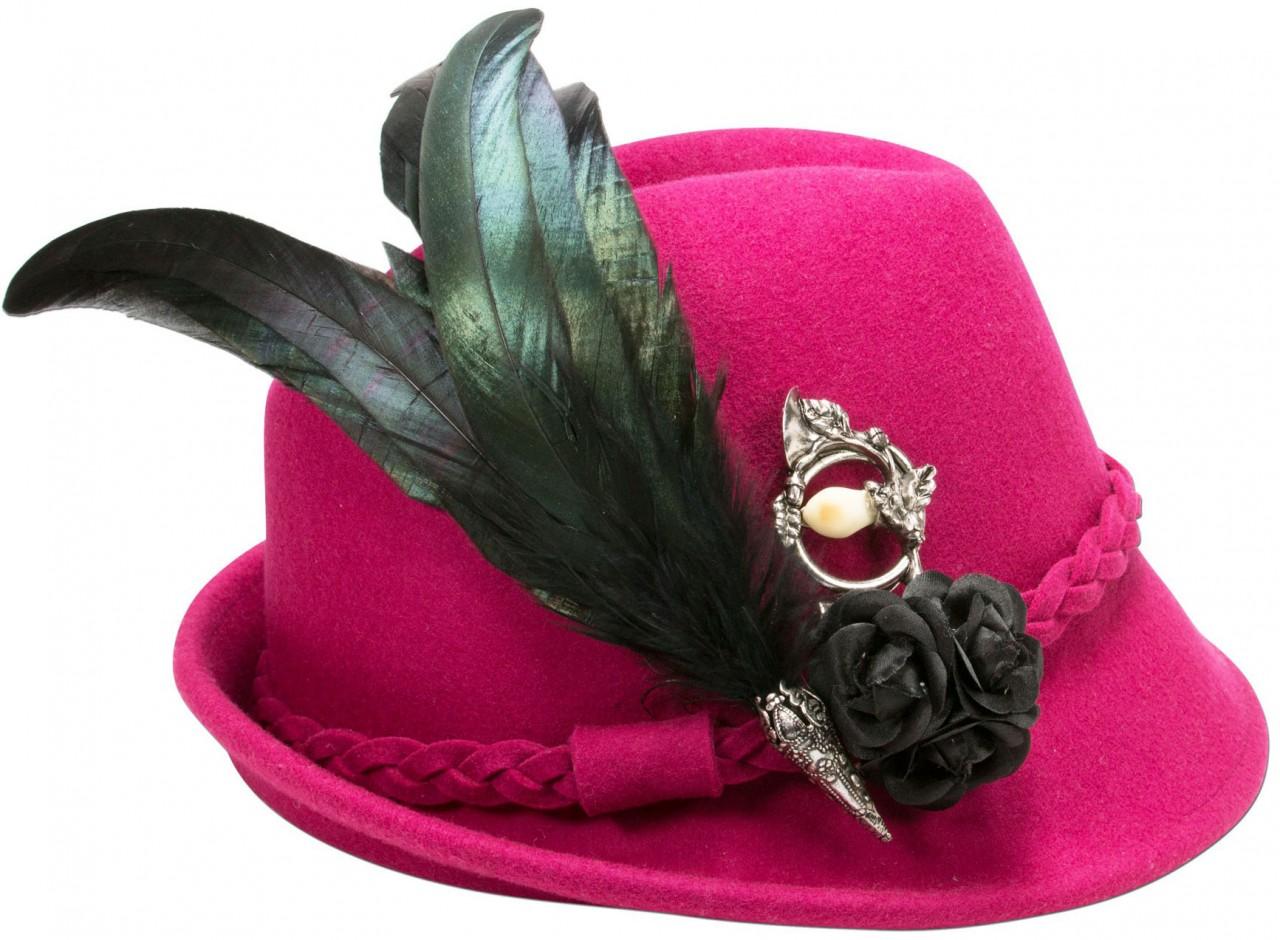 Filzhut Romy pink