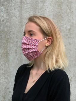 Mund-Nasen-Maske Judith rot