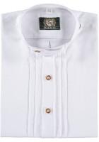 Vorschau: Trachtenhemd Eduard weiß