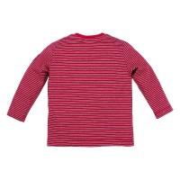 Preview: Kinder T-Shirt geringelt 'Hirsch'