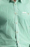 Vorschau: Trachtenhemd Campos in dunkelgrün