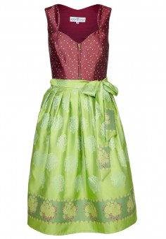 Dirndl Sally, burgundy