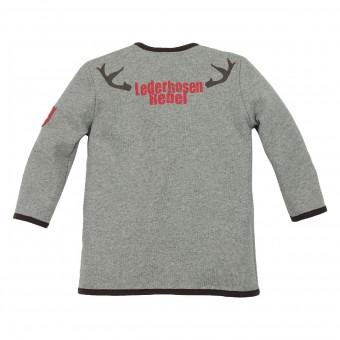 Kids Sweatjacke 'Lederhosen Rebel'