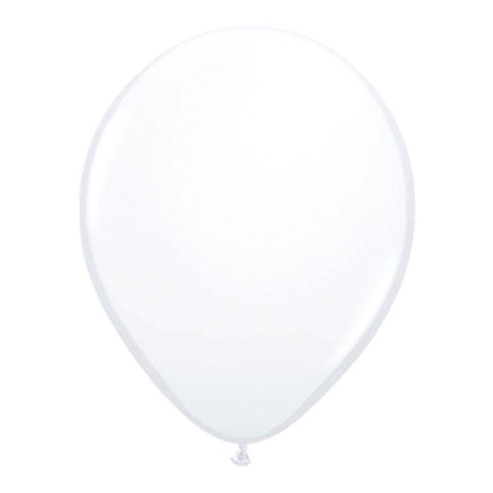 100 witte latexballonnen 30cm