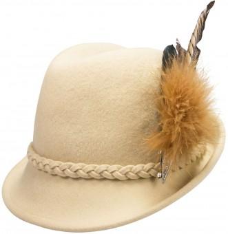 Felt Trachten Hat Mia, Cream