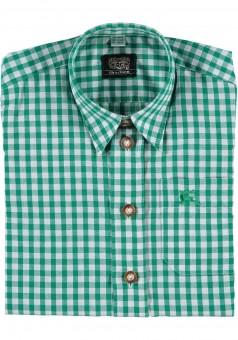 Kinderhemd Tonerl grün
