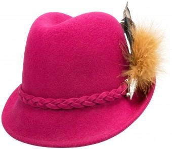 Filz-Trachtenhut Mia pink