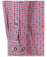 Vorschau: Olymp Trachtenhemd rot/blau kariert