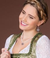 Vorschau: Ohrhänger Strassherz Hirschkopf