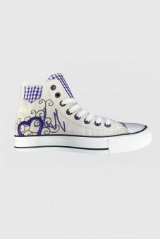 Sneaker Blue Heart