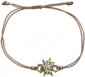 Tradycyjny zestaw bransoletek brązowy