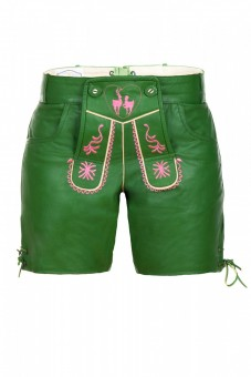 Ladies Lederhose, Green