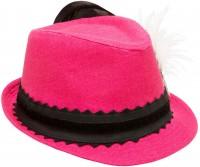Vorschau: Leinenhut Laura pink