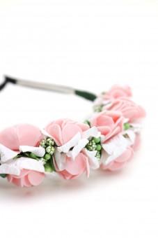 Haarreif Laure rosa