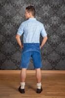 Vorschau: Lederhose Sebastian blau