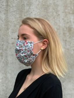 Mund-Nasen-Maske Blütenmeer