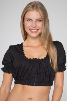 Dirndl Blouse Viola, Black