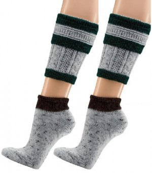 Trachten Socks, 2-pieces, Dark Green